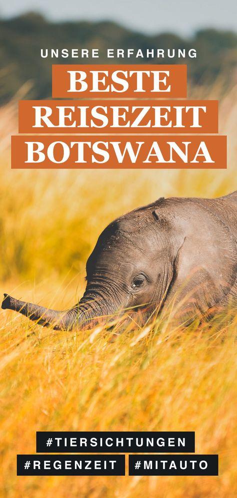 botswana reisezeit
