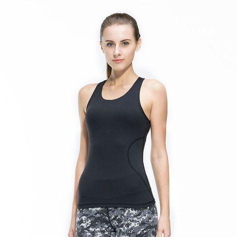 c1d654cd93 Fitness Women Sexy Tight Yoga Top Gym Sports Vest Sleeveless Shirts Tank  Tops Running Clothes Female T-shirt Mesh Sportswear