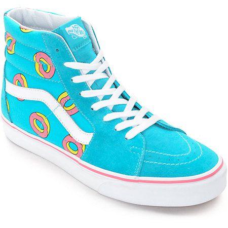 d3dd070a98 NEW Vans Sk8 Hi Skate BLUE Mono Yeezy Monotone Monochrome MENS High Top ALL