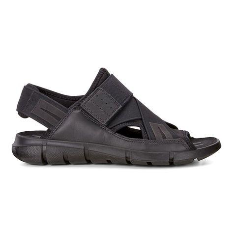 Ecco Gray Intrinsic Open Toe Sandals for men