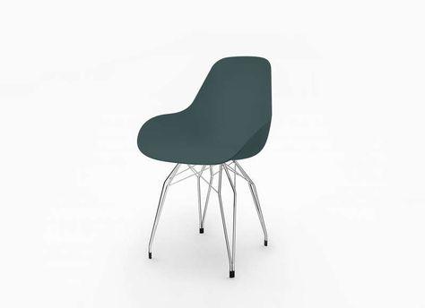 Chaise Scandinave Pied En Metal Bleu Diamond D Avec Images Chaise Design Chaise Chaise Scandinave