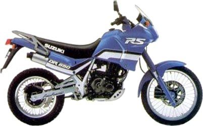1990 Suzuki Dr650rs Dr 650 Motos