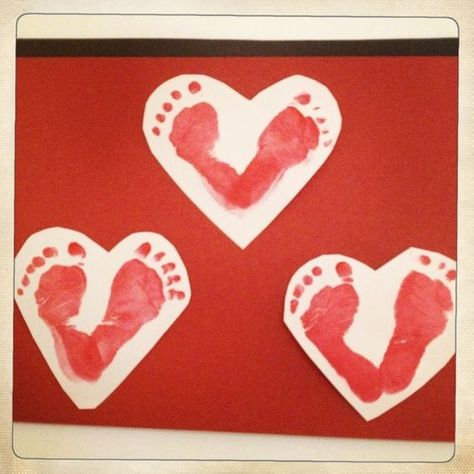 List Of Pinterest Infant Crafts Daycare Baby Art Projects Valentines