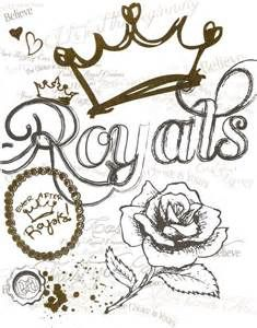 royals logo the royals from the school ever after high coloring page coloring pages pinterest royal logo and coloring books - Ever After High Coloring Pages