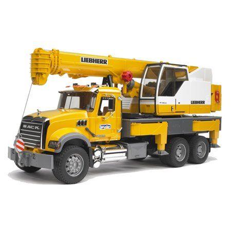 Toys In 2020 Truck Cranes Liebherr Crane Toy Trucks