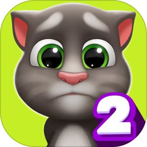 My Talking Tom 2 By Outfit7 Limited My Talking Tom Talking Tom Cat Talking Tom