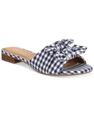 outlet store f65ac c865d Esprit Kenya Slip-On Flat Sandals - Blue 9.5M   Products in ...