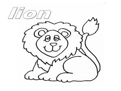 Animais Em Ingles Para Colorir E Imprimir Desenhos Desenhos