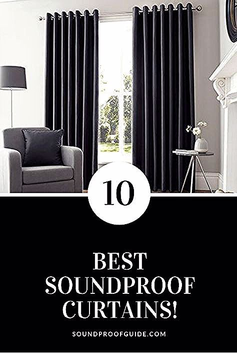 Best Soundproof Curtains You Can Buy On Amazon Curtain Door