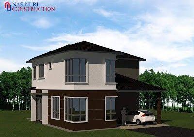 design rumah banglo dua tingkat / paten rumah banglo