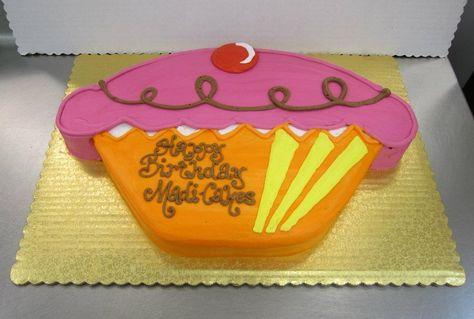 Cupcake Cutout cake by Stephanie Dillon, LS1 Hy-Vee