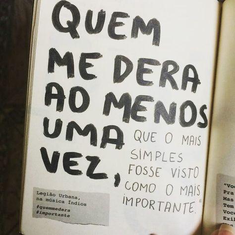 """Repost de frases❤️📝 on Instagram: """"Legião Urbana ❤🌺"""""""