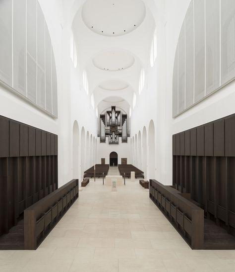 John Pawson Moritzkirche Interior Architecture Design John Pawson Architecture Design