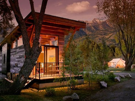 Tiny Vacation Homes You Can From Airbnb And More Photos Jackson Hole Wyoming