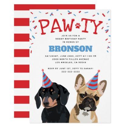 funny puppy dog birthday party