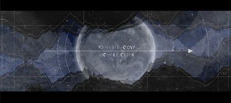 Im Rahmen meiner Bachelorarbeit habe ich einen Vorspann kreiert für den science fiction Film Interstellar.  Thema: Animierte Wiedergabe von komplexen, narrativen Elementen in einer grafisch abstrahierten Darstellung