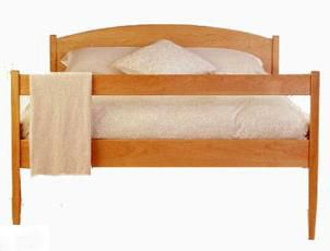 Vermont Made Shaker Platform Bed | Natural Solid Cherry Hardwood | Handmade  In America | Top Quality Green Luxury | Solid Wood Bed | Bedroom |  Pinterest ...