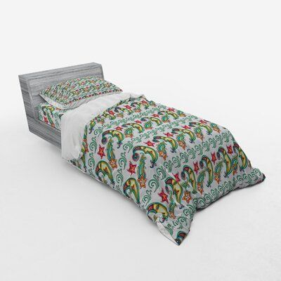 East Urban Home Indie Duvet Cover Set Size Twin Xl Duvet Cover