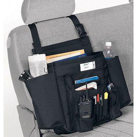 Uncle Mike/'s Law Enforcement Side-Armor Standard Car Seat Organizer Black