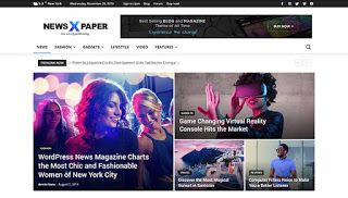 Newspaper 9 Pro Premium Blogger Template Free Download By Tech 90 Degree In 2020 Free Blogger Templates Blogger Templates Best Wordpress Themes