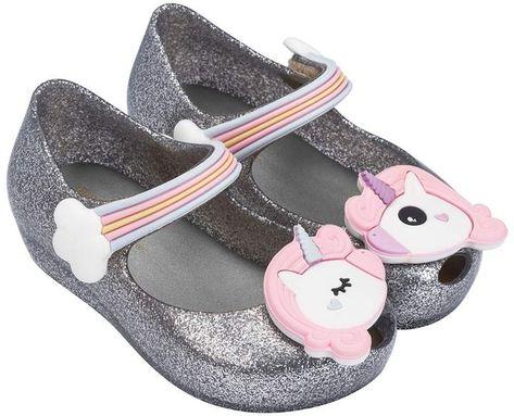 shoes Pink glitter unicorn Mary...