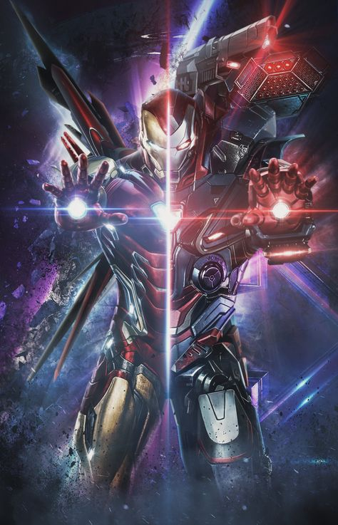 "'Iron Man x War Machine' Poster - 20"" x 30"""
