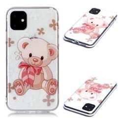 Cute Little Bear Super Clear Soft TPU Back Cover for iPhone 11 (6.1 inch)