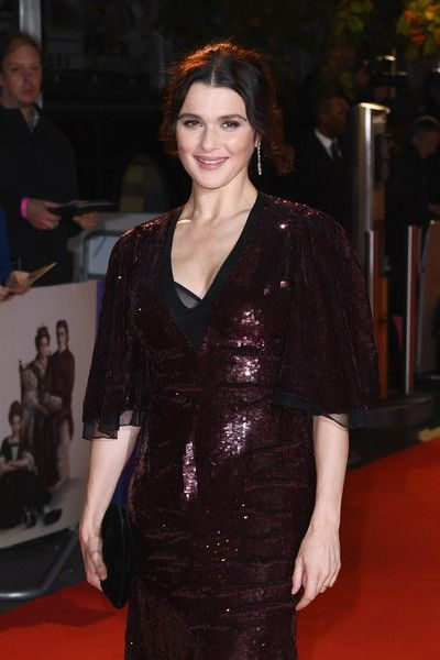 Rachel Weisz attends the UK premiere of 'The Favourite' & American Express Gala at the 62nd BFI London Film Festival.