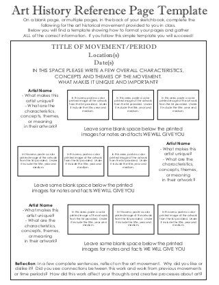 Use This Flowchart to Help Your Students Write Authentic Artist - best of 9 artist statement template
