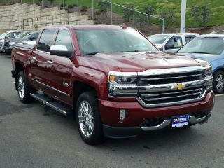 Red 2016 Chevrolet Silverado 1500 High Country For Sale In Boston