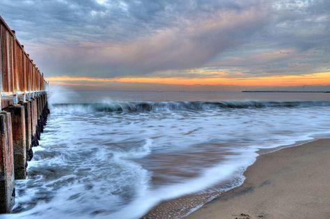 Sunrise in Marina Del Rey, Venice Beach