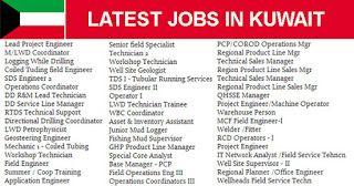 Direct Koc Jobs Kuwait Oil Company Iik Jobs Iiq8 Company Job