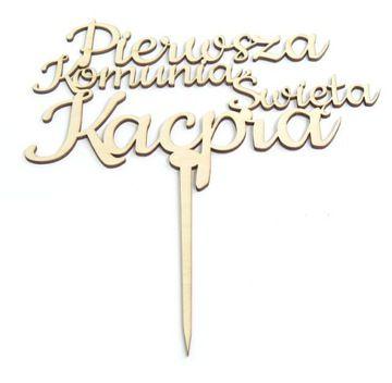 Topper Komunia Allegro Pl Wiecej Niz Aukcje Najlepsze Oferty Na Najwiekszej Platformie Handlowej Topper Art Calligraphy