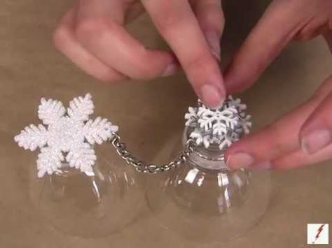 Glittered Snowflake Ring Christmas Crafts Pinterest Winter