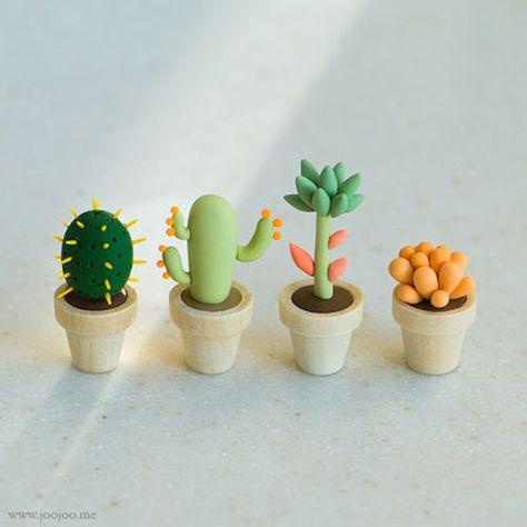 5 cactus DIY - El tarro de ideas