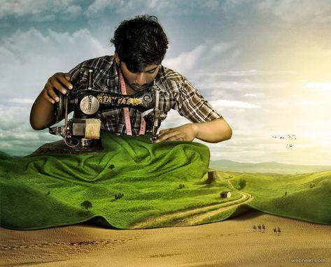 50 Creative Photo Manipulations from top designers around the world
