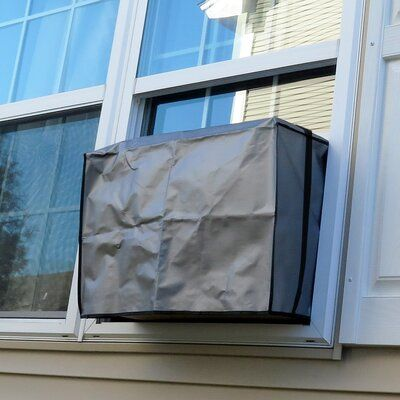 Evelots Outdoor Window Air Conditioner Cover In 2020 Window Air Conditioner Cover Air Conditioner Cover Window Air Conditioner
