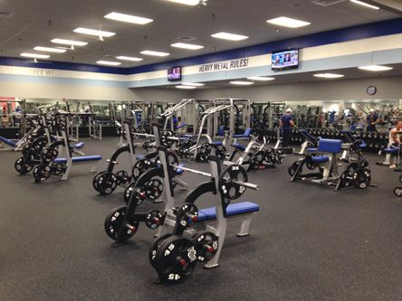 Tons Of Freight Weights At Crunch Fitness Oakland Park Workout Routine Workout Programs Fitness Goals