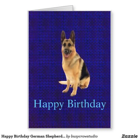44 Ideas Dogs Happy Birthday German Shepherds