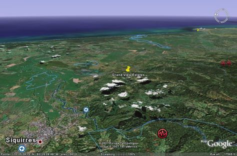 Google earth live See satellite view of your house fly directly to