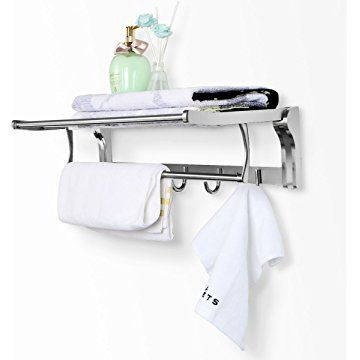 Inspirational Wall Shelf towel Bar