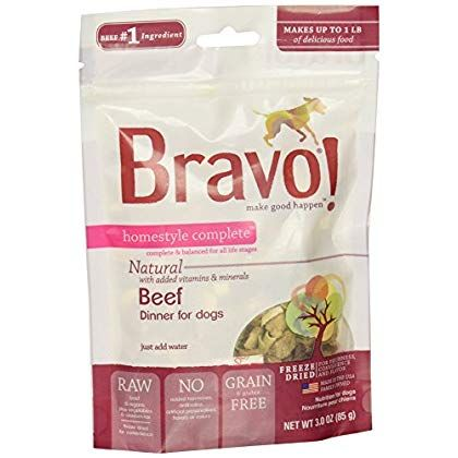 Bravo Homestyle Freeze Dried Dinner Beef Food 3 Oz Sincerely Hope That You Actually Do Love The Picture This Is Our In 2020 Dog Food Recipes Food Best Dog Food