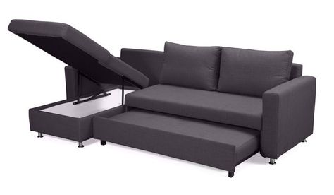Geo Corner Sofa Bed - Double - Delux Deco UK