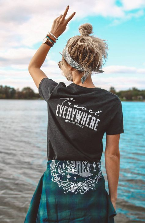 Travel Everywhere cropped tee. Go everywhere, travel everywhere. Sideseamed 50% poly, 25%ring-spun cotton, 25% rayon 40 single 3.8 oz Every purchase supports our mission to empower women outside CARE INSTRUCTIONS Machine Wash Cold Tumble Dry Low NOTE: All Sale Items arefinal. Size Reference: S 2-4M 6-8L 10-12XL 12-1