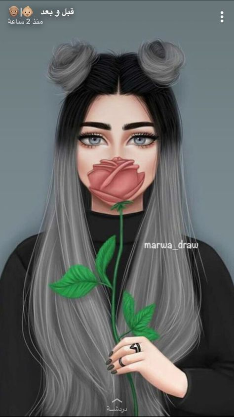 El otro retrato mio Girly Drawings, Kawaii Drawings, Couple Drawings, Tumblr Girl Drawing, Tumblr Drawings, Sarra Art, Girly M, Black Girl Art, Girly Pictures