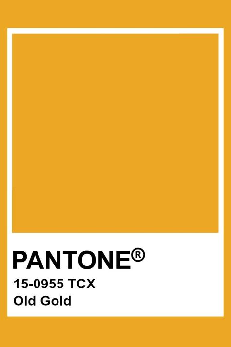 Pantone Old Gold
