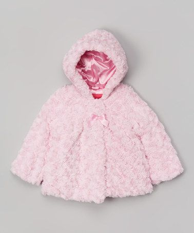 691bf33a0 Another great find on #zulily! Pink Faux Fur Jacket - Infant & Toddler by London  Fog #zulilyfinds