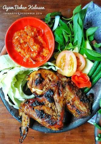 Resep Ayam Bakar Kalasan Oleh Triana Fitria Dewi Resep Resep Ayam Makanan Pedas Makanan Dan Minuman