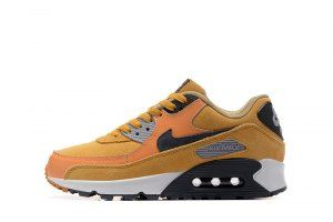 Mens Shoes Nike Air Max 90 Leather Winter Premium Wheat
