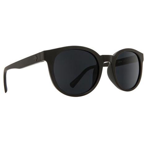 18f9d7e20aa eBay  Sponsored Spy HI-FI Matte Black Gray Sunglasses